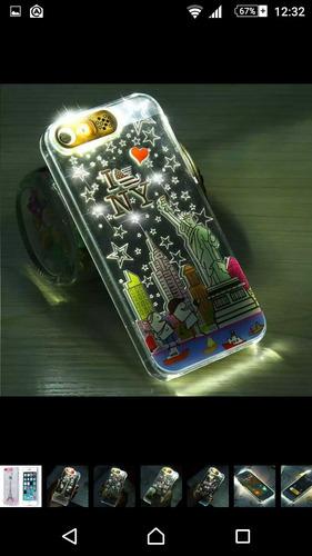 bumper flashing led iphone 6s plus prende con notificaciónes