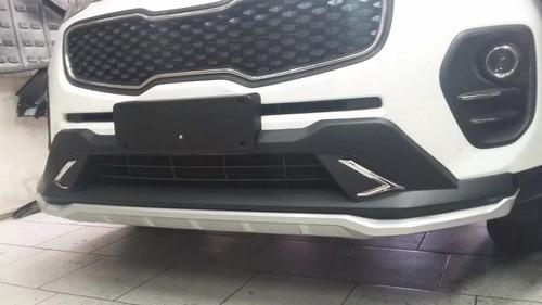 bumper frontal kia new sportage 2016 - 2018 duplicado