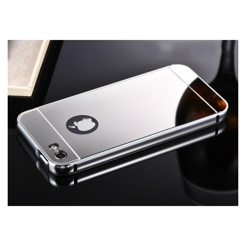 75246772f41 bumper funda case para iphone 5 5s 6 6s plus metal espejo. Cargando zoom.