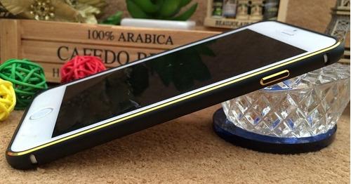 bumper funda iphone 6 4.7 aluminio de lujo