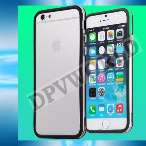 bumper iphone 6 6s 4.7 aluminio metalico lamina posterior