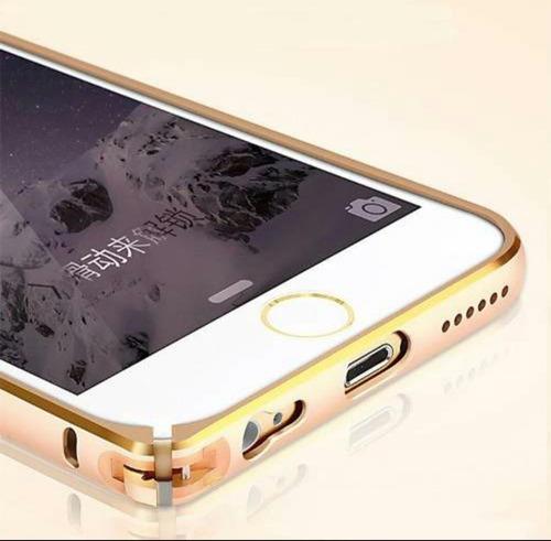 bumper iphone 6 6s vidrio delantero y trasero envio gratis