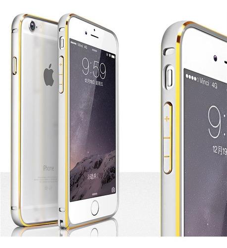 bumper iphone 6 plus aluminio calidad premium super livianos