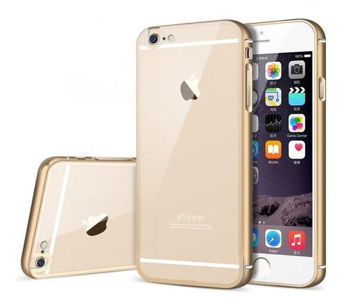 bumper  iphone 6/6s plus aluminio de lujo 2x1