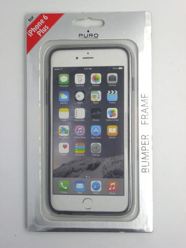 bumper para iphone 6 plus/6s plus en varios colores