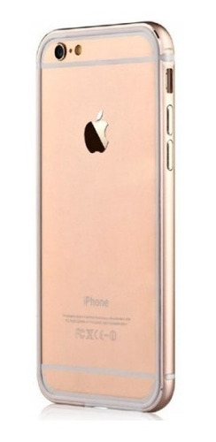 bumper para iphone 6/6s devia en dorado