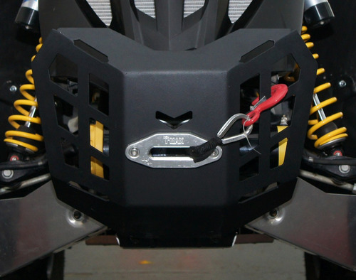 bumper porta malacate (winch) can am renegade +2012