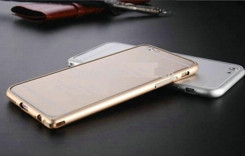 bumper premium apple iphone 6 metal aluminio