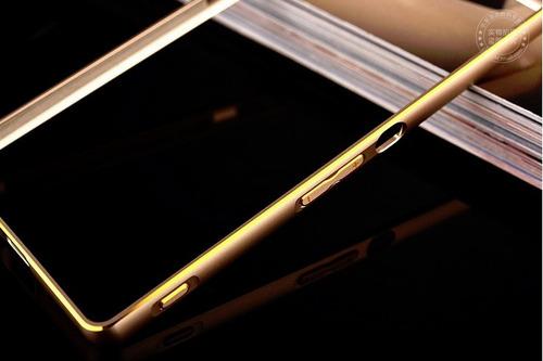 bumper protector aluminio m4 aqua de lujo