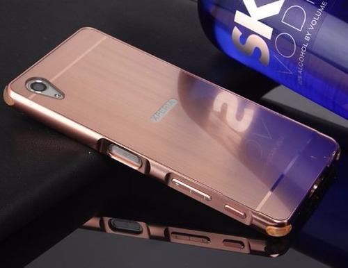 bumper protector de aluminio sony xperia x