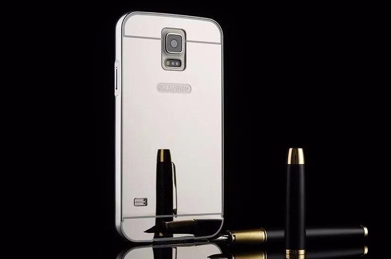 Bumper samsung galaxy s5 aluminio tipo espejo en mercado libre - Aluminio espejo ...