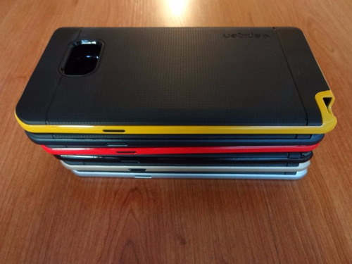 bumper spg samsung note 5 + vidrio templado 0,33 mm