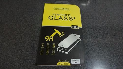 bumper spg samsung s4 + vidrio templado 0,33 mm