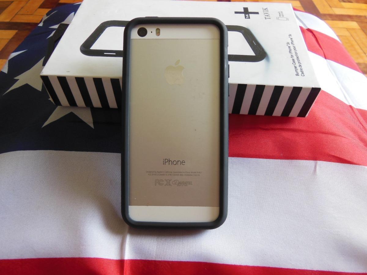 info for f1a69 75238 Bumper Tavik Para iPhone 5 Ao 5s - Preto