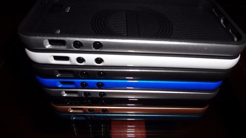 bumper verus para iphone 6s + lamina vidrio templado 0.33mm