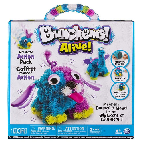 bunchems alive spin master 6027870