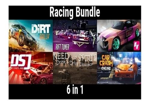 bundle 6 juegos de carreras steam key(dirt rally y otros)