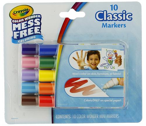 Bundle: Crayola Color Wonder Papel De Dibujo - 30 Hojas Y Cr ...