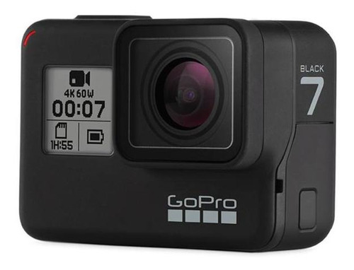 bundle gopro hero 7 black + shorty + bateria + micro sd 32gb