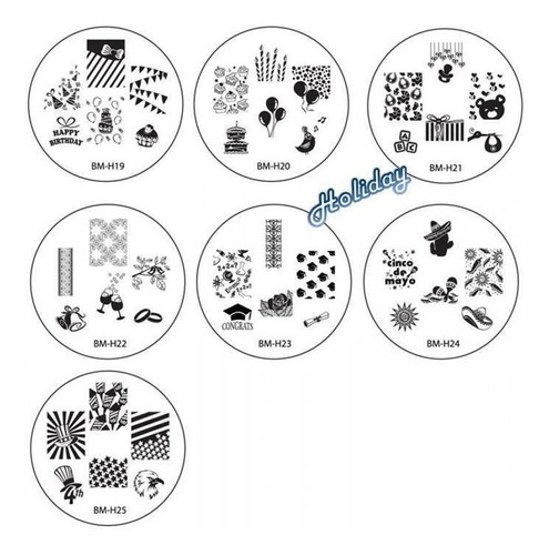 bundle monster 26pc 2013 cyo set estampado de uñas
