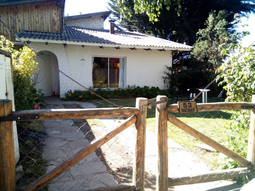 bungalow 4 p. con jardín y estacionamiento. a 50m del lago.
