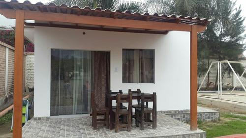 bungalow familiar en cieneguilla para 8 personas