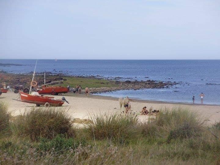 bungalows en playa hermosa, c/parrillero( solo febrero )