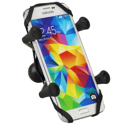 bungee seguridad de soporte ram xgrip 6 p/ iphone x 8+ s8