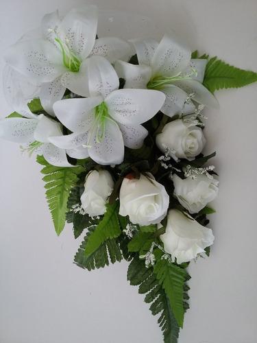 buquê noivas acessórios casamento bouquet artificial eventos