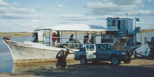 buque barco chata de carga