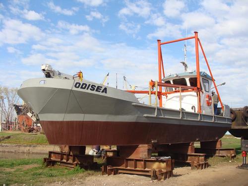 buque de trabajo!!!, dos motores detroit, carga 25 toneladas