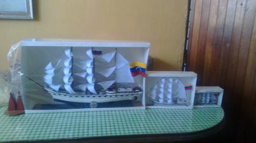 buque escuela simon bolivar maqueta naval - barco a escala