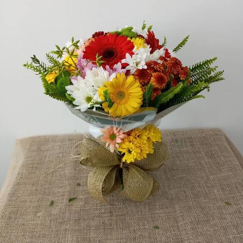 buquês de flores naturais para presente