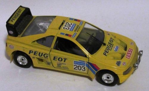 burago peugeot 405 turbo escala 1:24 sucata restauro diorama