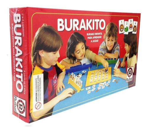 burakito burako juego de mesa infantil niños ruibal en cadia