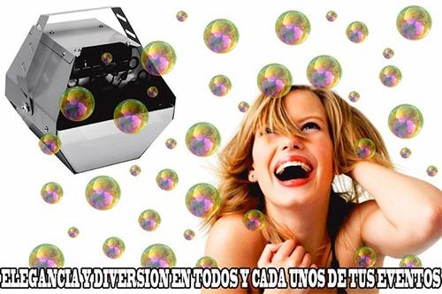 burbujas burbujas maquina