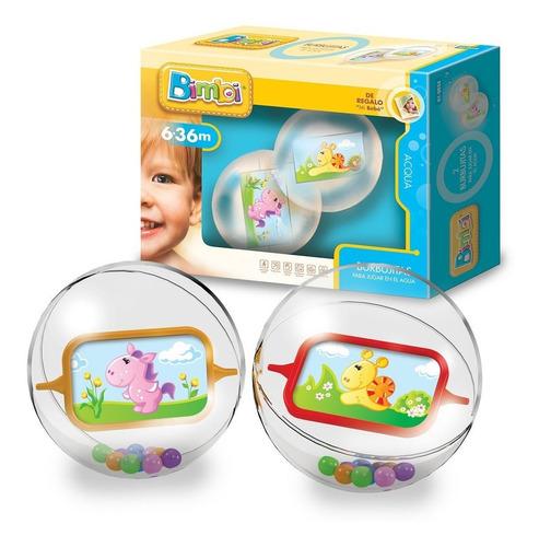 burbujas pelotas para jugar en el agua bimbi