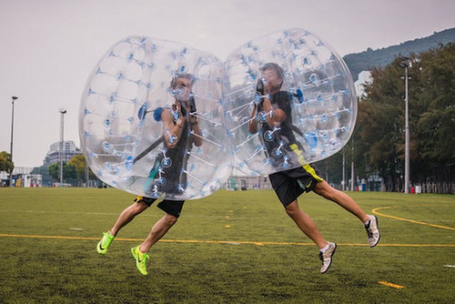 burbujas soccer, burbu soccer