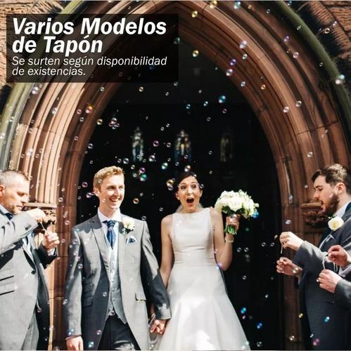 burbujeros bodas matrimonios recordatorio años-fiestas pompa