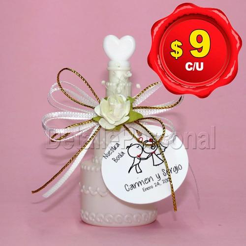 burbujeros para boda personalizados - pastel de boda