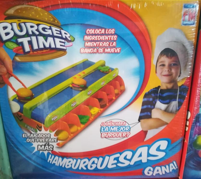 Burger Time Juego De Mesa Fotorama 886 00 En Mercado Libre