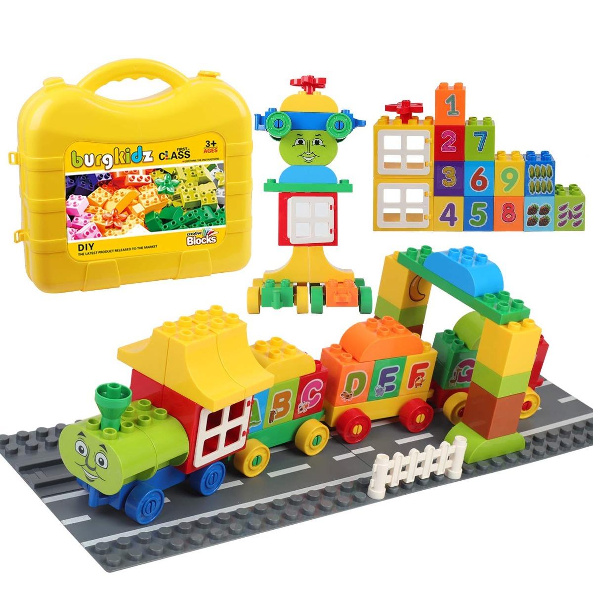 Maleta Tren De Burgkidz Para Niños Aprendizaje Juguetes 6 W9H2IDE