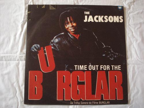 burglar-lp-vinil-the jacksons-trilha filme-the distance