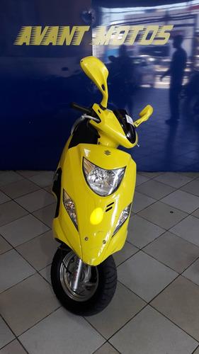 burgman 125  amarela  2013