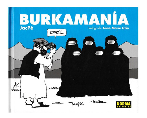 burkamania - humor grafico - jacpe - norma editorial