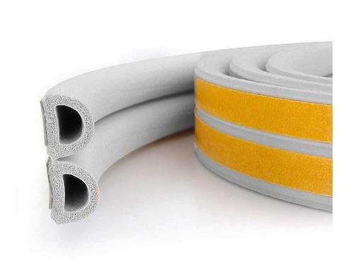 burlete goma perfil d blanco suprabond 5 mts autoadhesivo