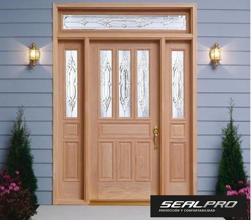 Puertas para casa puertas exteriores para casas puerta - Burlete para puertas ...
