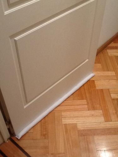 burlete puertas ahorre energia gas mantiene la temperatura