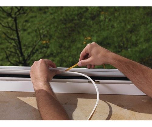 burlete puertas y ventanas epdm ahorro energético 50 metros