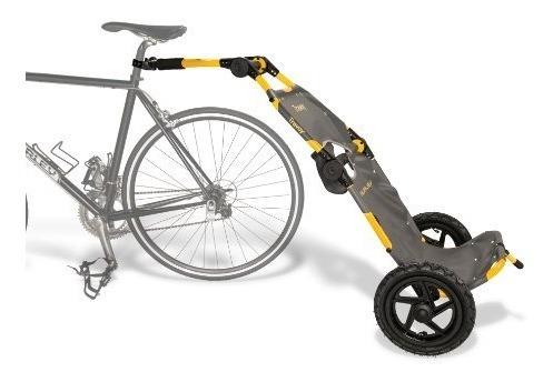 burley design travoy bicicleta remolque, amarillo